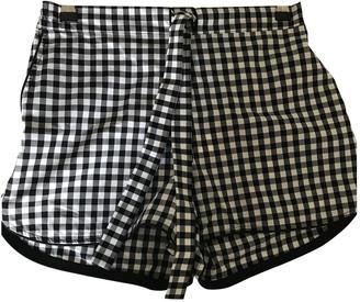 Sleeper Black Cotton Shorts