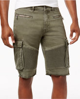 "Reason Men's 11"" Cargo Pocket Moto Shorts"