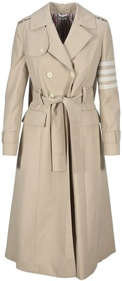 Thom Browne Belted Trench Coat