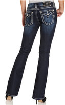 Miss Me Rhinestone Dark Wash Bootcut Jeans