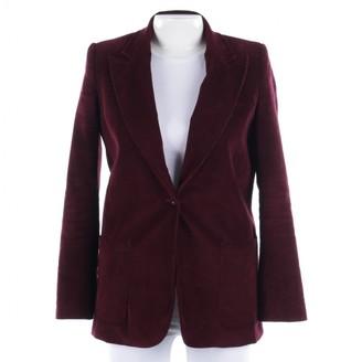 Anine Bing Burgundy Cotton Jackets