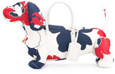Thom Browne dog tote - men - Leather - One Size