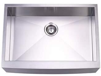 "Elements of Design Denver 30"" L x 21"" W Undermount Single Bowl Kitchen Sink Elements of Design"