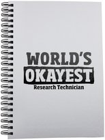 Fotomax Notebook with World's Okayest Research Technician