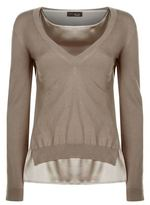 Peserico Double Layered Jumper