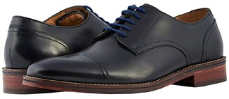 Florsheim Salerno Cap Toe Oxford (Black Smooth) Men's Lace Up Cap Toe Shoes
