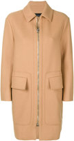 Cédric Charlier zipped cocoon coat