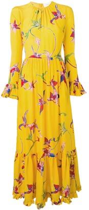 La DoubleJ Visconti orchid dress