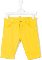 DSQUARED2 casual shorts - kids - Cotton/Spandex/Elastane - 13 yrs