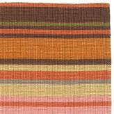 Multi-Color Stripe Jute Rug