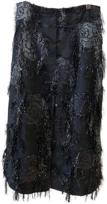 Rodebjer Black Cotton Skirt for Women