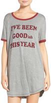 COZY ZOE Graphic Jersey Sleep Shirt
