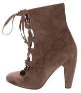 Marni Suede Leather Ankle Boots