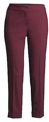 Etro Women's Tropical Wool Cuffed Pants