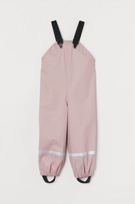 H&M Rain Pants with Suspenders