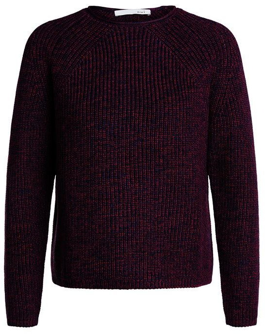 Thumbnail for your product : Oui Rib Knit Jumper