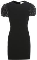 Saint Laurent Sequinned Crêpe Dress