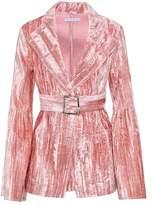 Rejina Pyo Crushed-velvet jacket