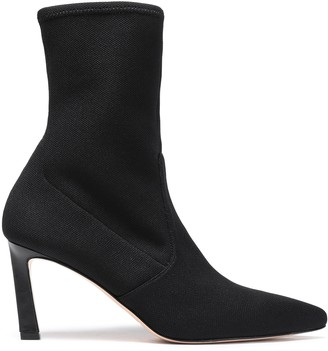 Stuart Weitzman Stretch-knit Sock Boots