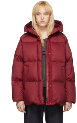 Moncler Red Down Nerum Jacket