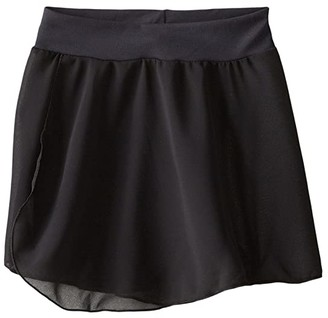 Capezio Pull-On Skirt (Toddler/Little Kids/Big Kids) (Black) Girl's Skirt