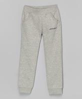 Eddie Bauer Heather Gray Logo Sweatpants - Toddler & Girls