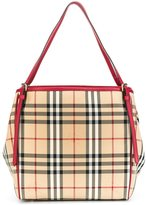 Burberry house check tote - women - Calf Leather/Polyamide - One Size