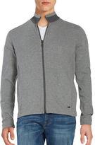 HUGO BOSS Reversible Zip-Front Cardigan
