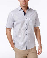 Tasso Elba Men's Foulard 100% Cotton Shirt, Only at Macy's
