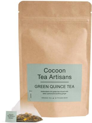 Cocoon Tea Artisans 100% Organic Green Quince Tea Refill Bag