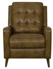 George Oliver Angelo Manual Recliner Fabric: Distressed Faux Leather