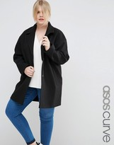 Asos Boyfriend Coat in Cocoon Fit