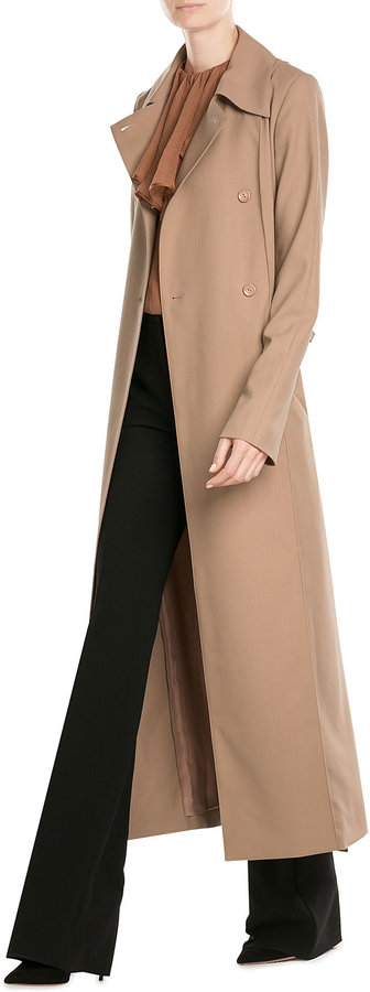Nina Ricci Wool Trench Coat