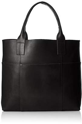 Pieces Women PCIRENE LEATHER SHOPPER Handbag