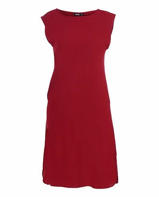 Silk Route Rumba Red Rayon Slip Dress Extra Small