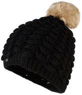 Superdry Bobble Stitch Fur Pom Pom Hat