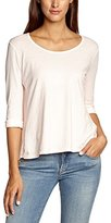 Madonna Women's Indiraturn up back knitted Long Sleeve Top,(Manufacturer size: Small)