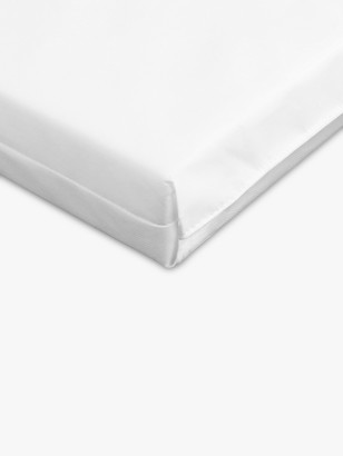 John Lewis & Partners Basic Foam Cotbed Mattress, 140 x 70cm