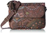 Oilily Women's S Flat Cross-Body Bag Brown