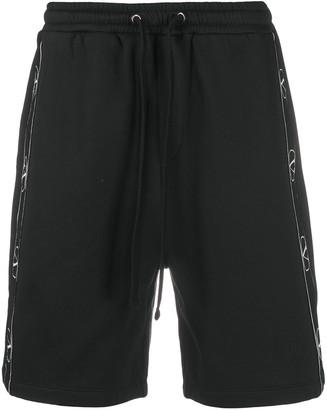 Valentino VLOGO track shorts