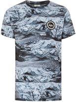 Hype Black 'rock Dunes' T-shirt*