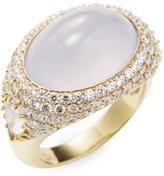 Ila Women's Eclipse Chalcedony Ring