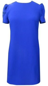 Vince Camuto Puff-Sleeve Shift Dress