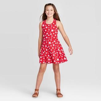 Cat & Jack Girls' Star Dress - Cat & JackTM