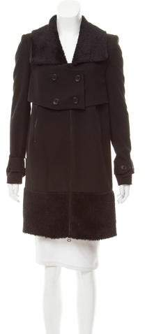 Robert Rodriguez Long Sleeve Knee-Length Coat