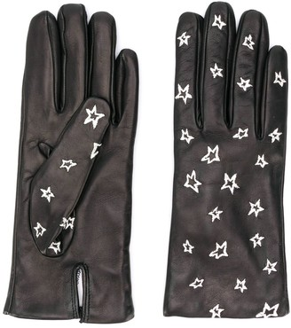 Paul Smith Star-Embroidered Gloves