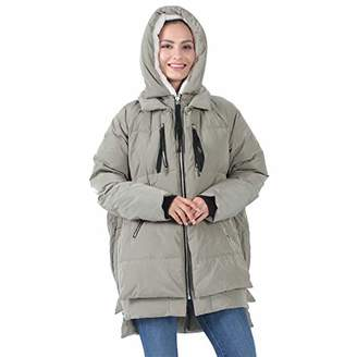 THE PLUS PROJECT Down Parka Women with Hood