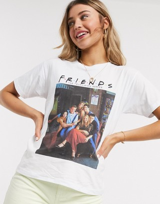 Asos DESIGN t-shirt with Friends