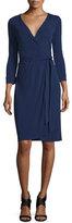 Diane von Furstenberg New Julian Two Matte Jersey Wrap Dress, Midnight