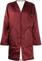 Filippa K York quilted reversible coat